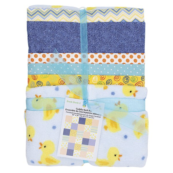 Cuddly Quilt Kit <br> Boy <br>MD-G-AC-CQ5