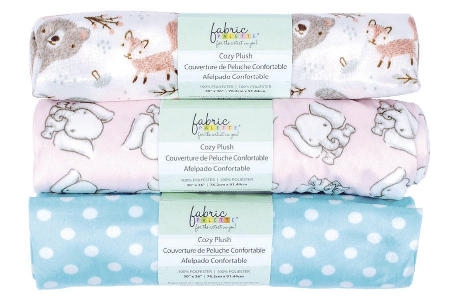 Fabric Palette Cozy Plush<br>Assorted - 30 x 36 <br> MD-G-BABY-MN