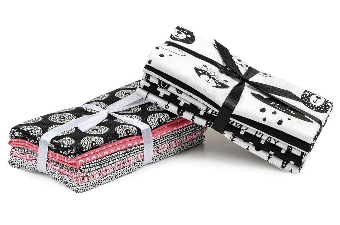 Fabric Palette 5pc Bundle<br>Black & White<br>MD-G-BND66