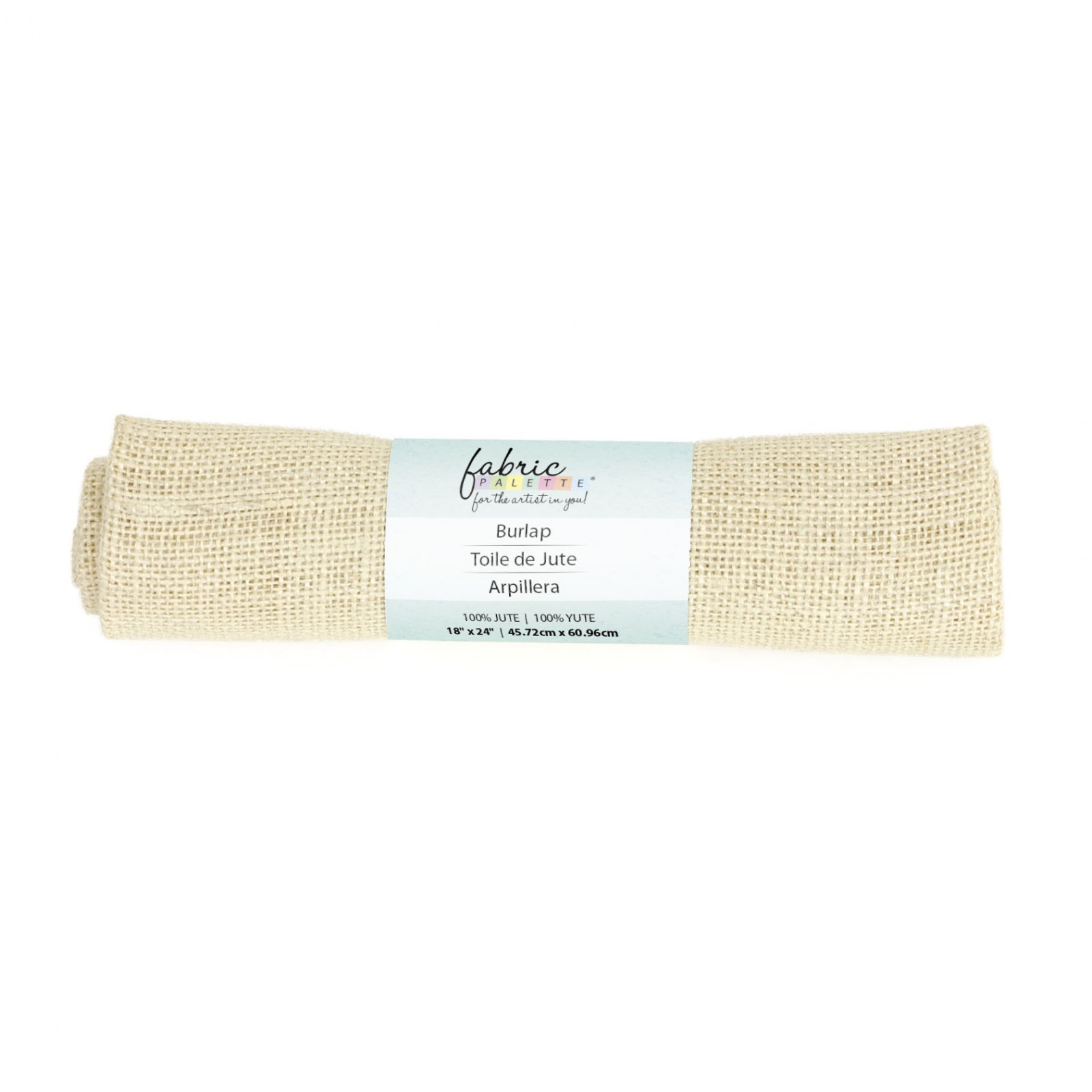 Fabric Palette Burlap <br> Oyster - 18 x 24 <br>MD-G-BURLAP2
