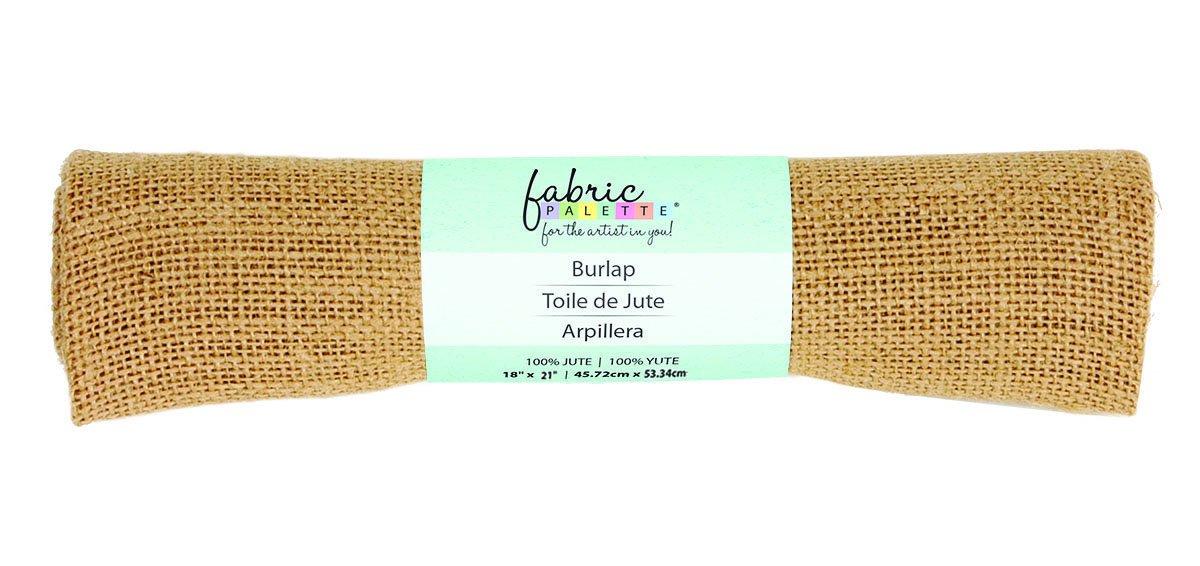 Fabric Palette Burlap <br>Natural - 18 X 21<br> MD-G-BURLAP5