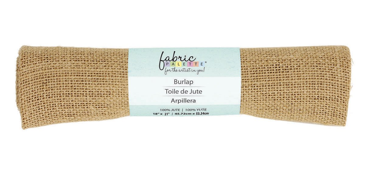 Fabric Palette Burlap <br>Natural - 18 x 21<br> MD-G-BURLAP5