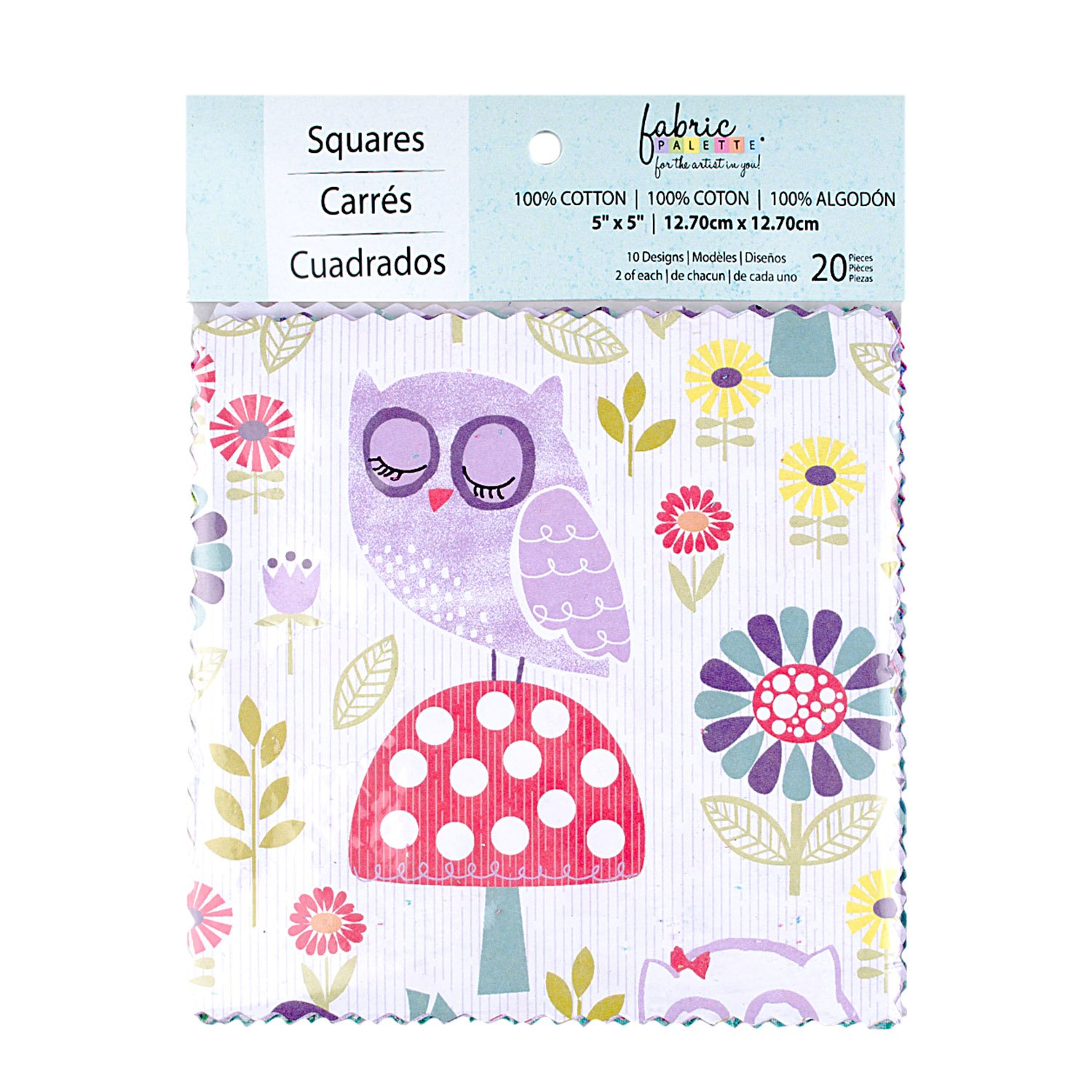 Fabric Palette 20pc Squares Pack<br>Pippet Moesby Collection<br>MD-G-CP-AC