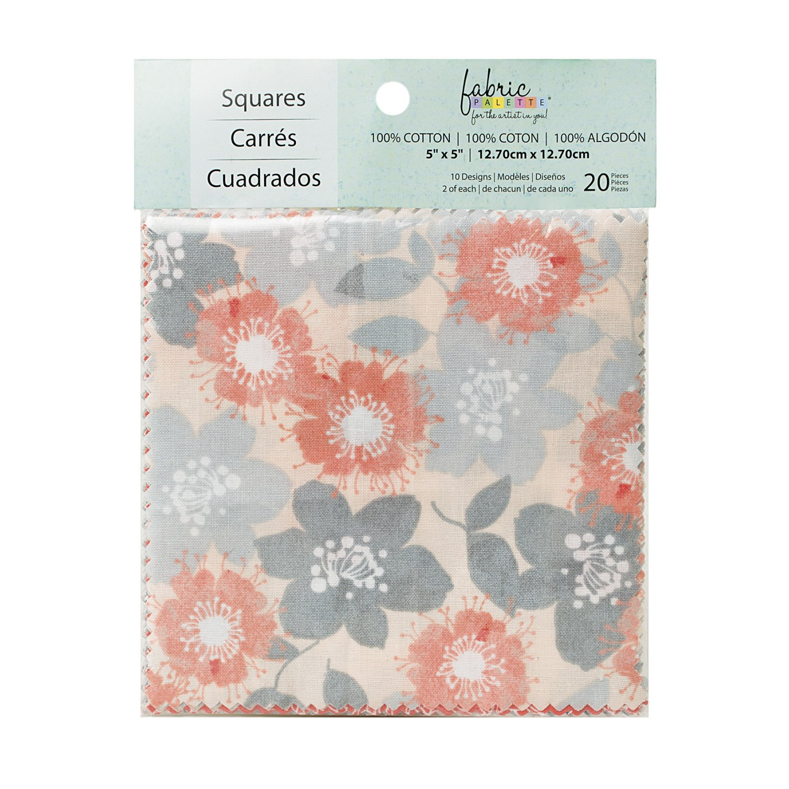 Fabric Palette 20pc Squares Pack<br>Marbella Collection<br>MD-G-CP-THM-1