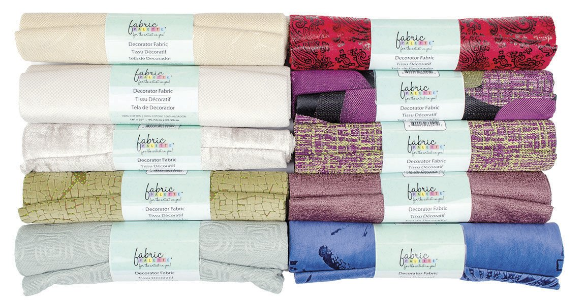 Fabric Palette Decorator Fabric<br> Faux Suede Assortment - 18 x 24<br>MD-G-DECORATOR3