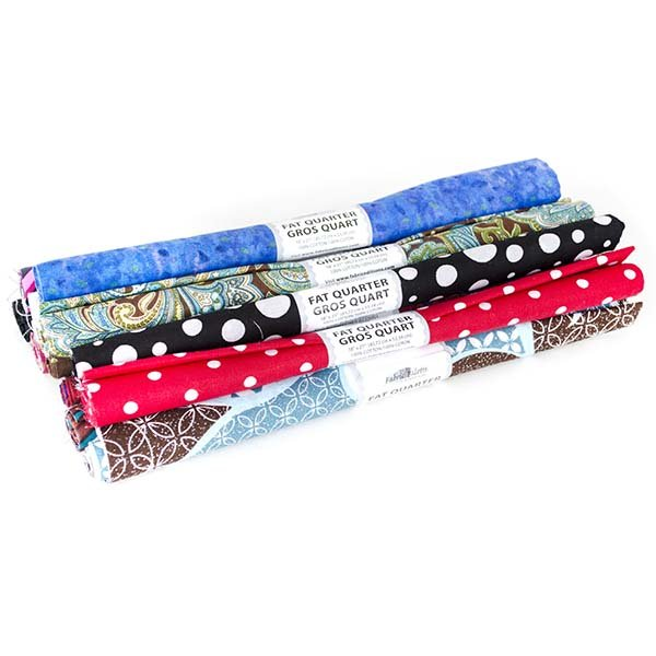 Fabric Palette Rolled Fat Quarter <br>Dark Assortment <br>MD-G-FQ-DARK