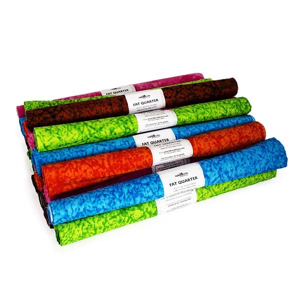 Fabric Palette Rolled Fat Quarter <br>Texture Assortment <br>MD-G-FQ-TEXT