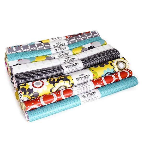 Fabric Palette Rolled Fat Quarter <br>Fashion Trend 2  Assortment <br>MD-G-FQ-TREND2
