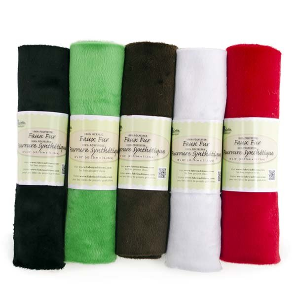 Fabric Palette Faux Fur<br>Assorted Colors - 18 x 30<br>MD-G-FUR6