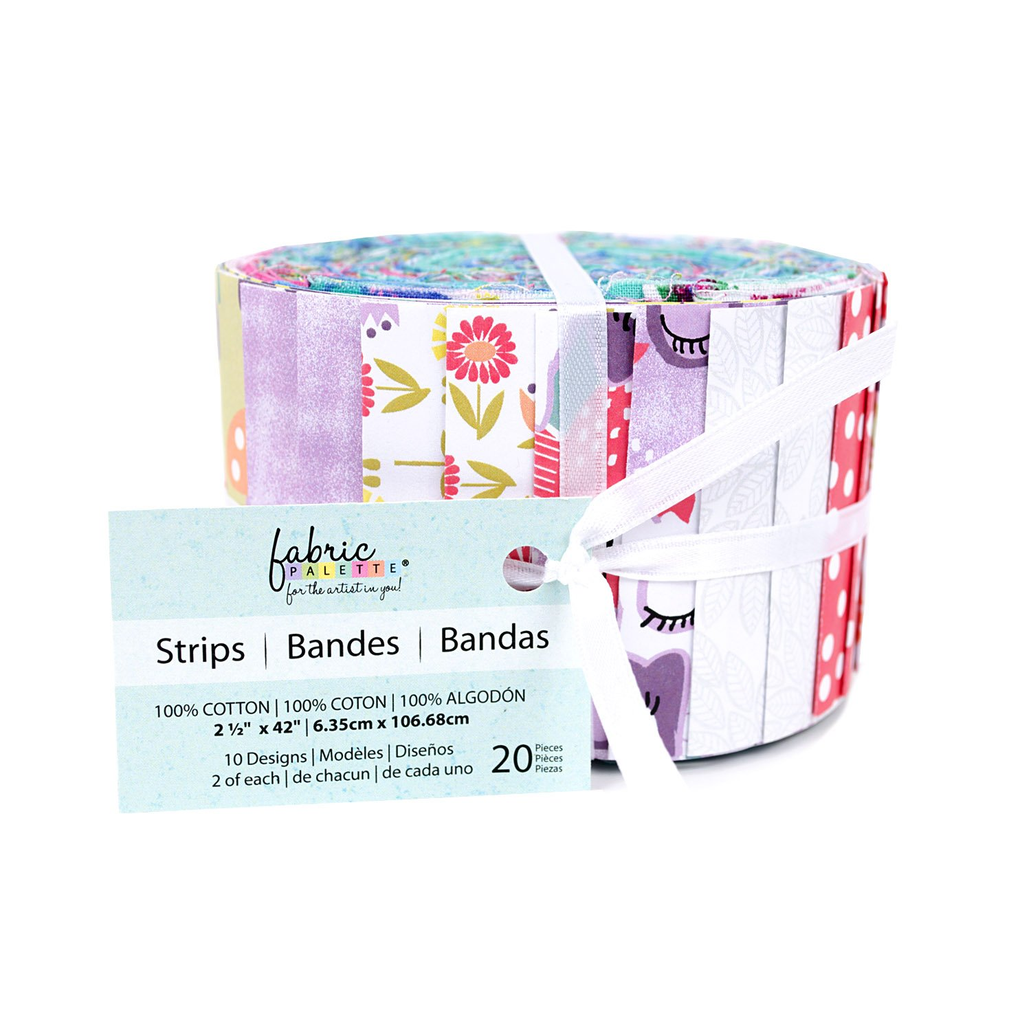 Fabric Palette 20pc Strips Roll<BR> Pippet Moesby Collection<br>MD-G-JL-AC