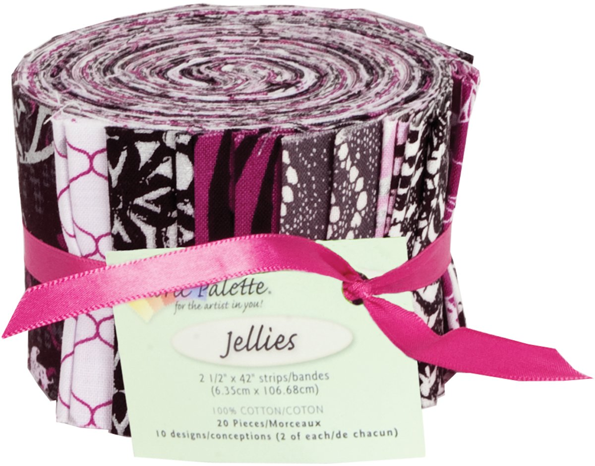 Fabric Palette 20pc Strips Roll<br>MD-G-JL-CTY