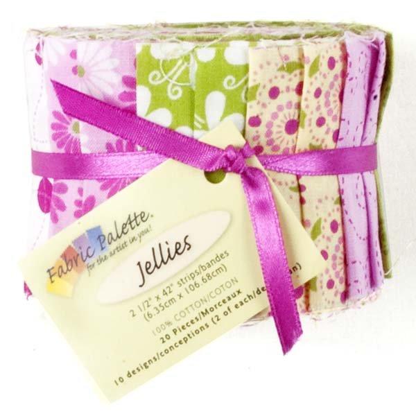Fabric Palette 20pc Strips Roll<br>MD-G-JL-FB