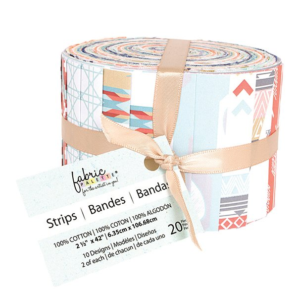 Fabric Palette 20pc Strips Roll<br>Kohana Collection<br>MD-G-JL-FS