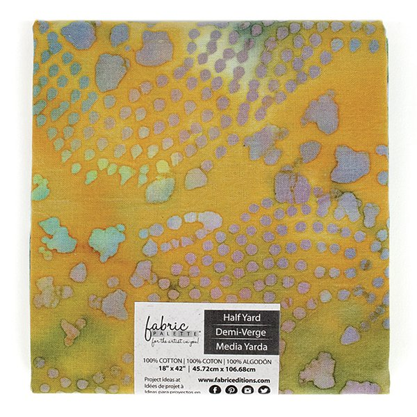 Fabric Palette Half Yard<br>Long Road Batik Collection<br>MD-G-LRBAT-D
