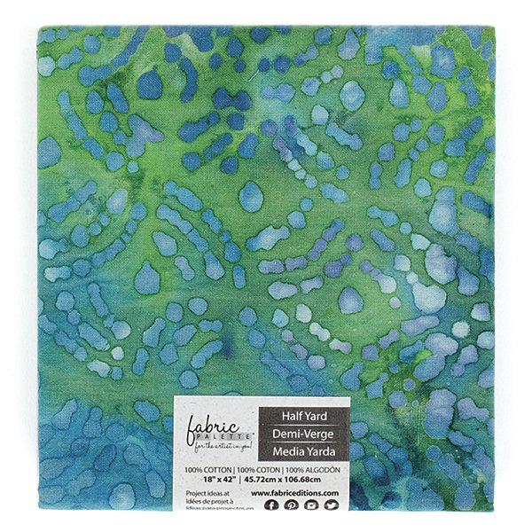 Fabric Palette Half Yard<br>Long Road Batik Collection<br>MD-G-LRBAT-E