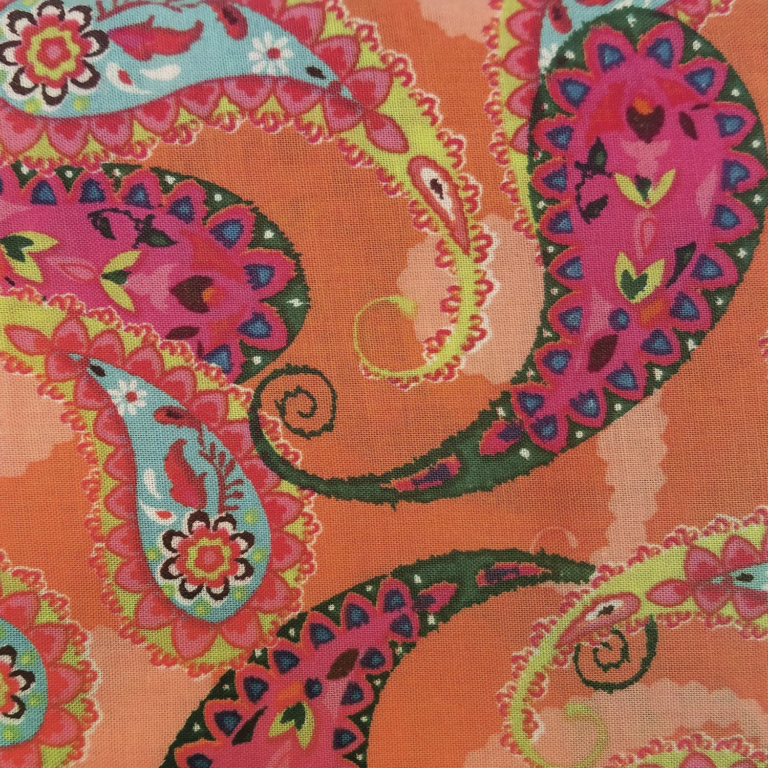 Fabric Palette Fat Quarter <br>Orange - Design may vary <br>MD-G-PC335