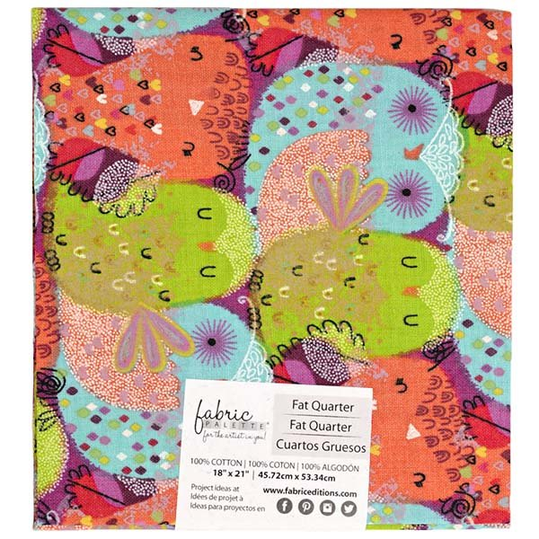 Fabric Palette Fat Quarter<br>Hootenanny<br>MD-G-PCHTN-1