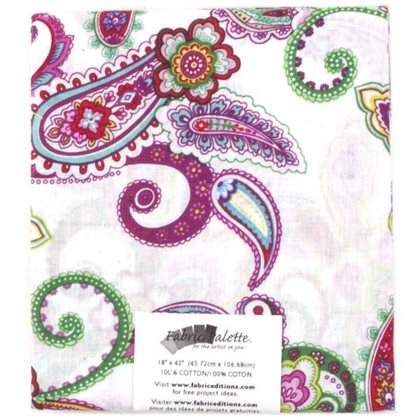 Fabric Palette Half Yard<br>Punch of Paisley Collection<br>MD-G-PP-A
