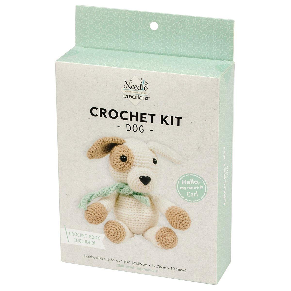 Needle Creations<br>3-D Crochet Kit Dog<br>NC-CRCHKT-DOG
