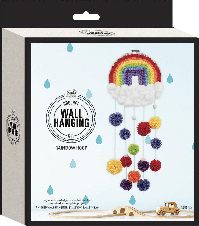 Needle Creations <br>Crochet Wall Hanging Rainbow<br>NC-CRCHWHL-RNBW