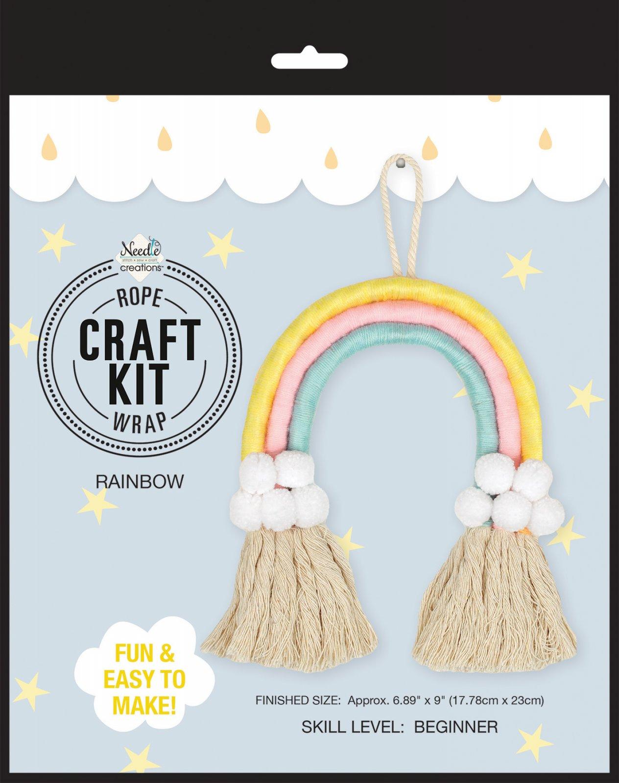 Needle Creations<br>Rope Wrap Craft Kit Rainbow<br>NC-DIYRNBWKT