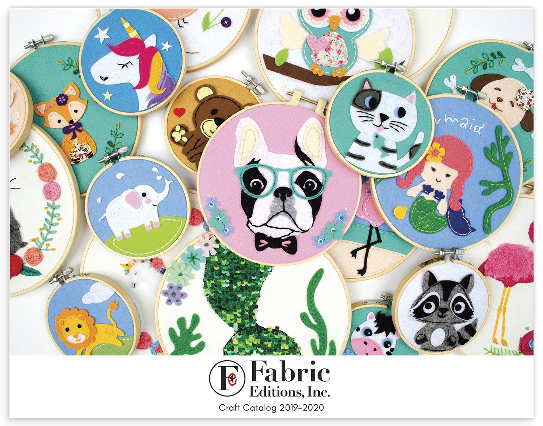 Fabric Editions 2020 Craft Catalog
