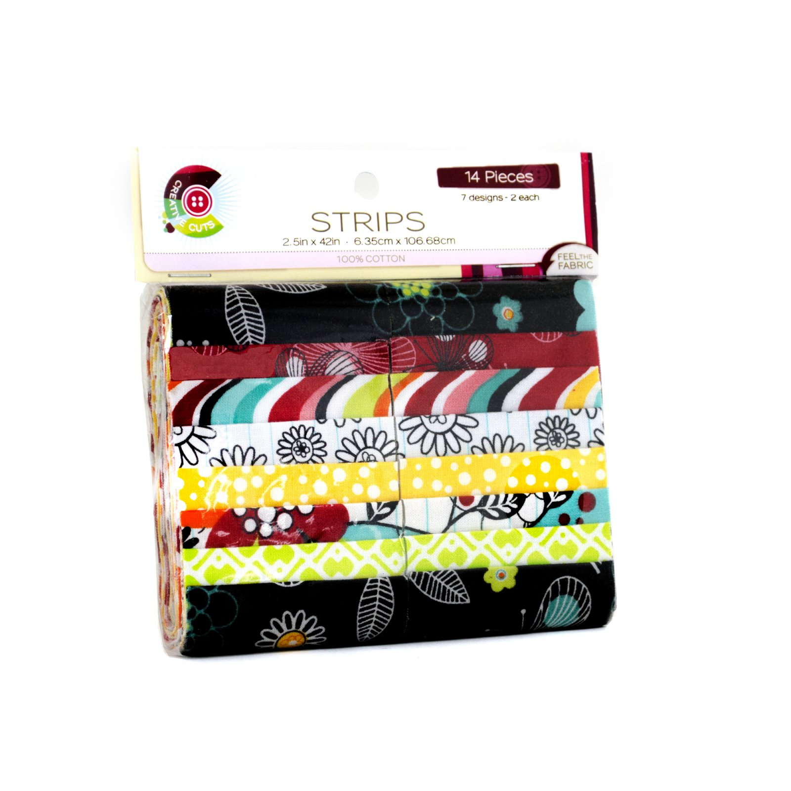 Creative Cuts 14pc Strips Roll<br>Notebook Floral Collection<br>MD-WM-STR-NBFL