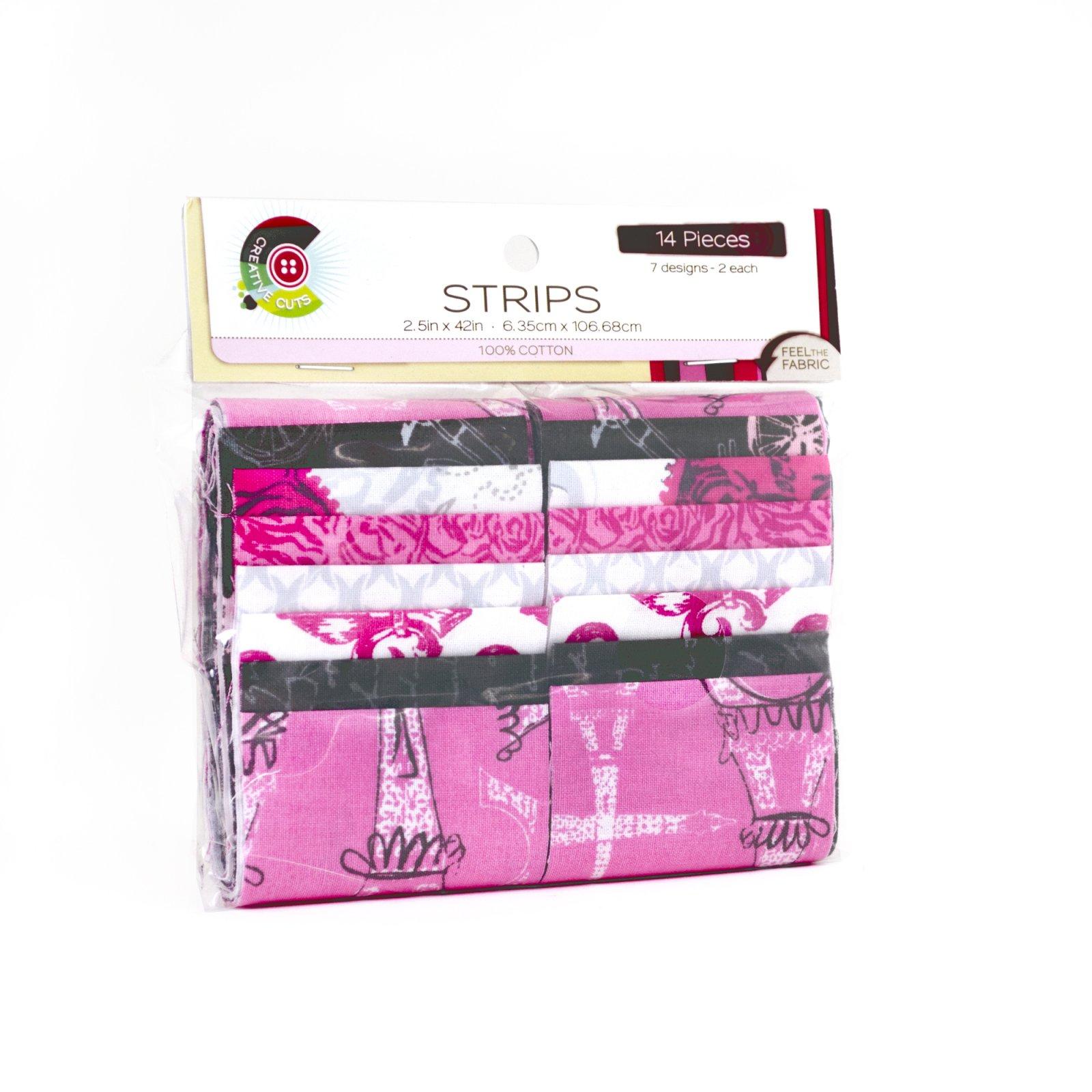 Creative Cuts 14pc Strips Roll<br>Paris Collection<br>MD-WM-STR-PAR