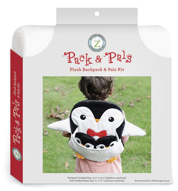 The Land of Whimzie <br>Pack & Pals Kit Penguin<br>PC-LW-PENGN-PPL