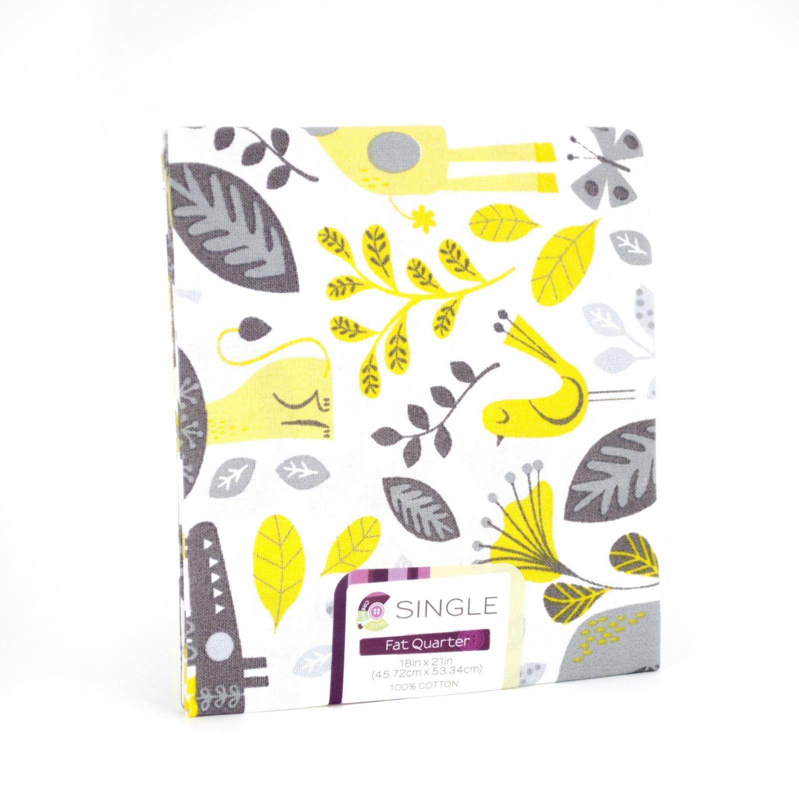Creative Cuts Fat Quarter <br>Baby Jungle Maize <br>MD-G-PC681