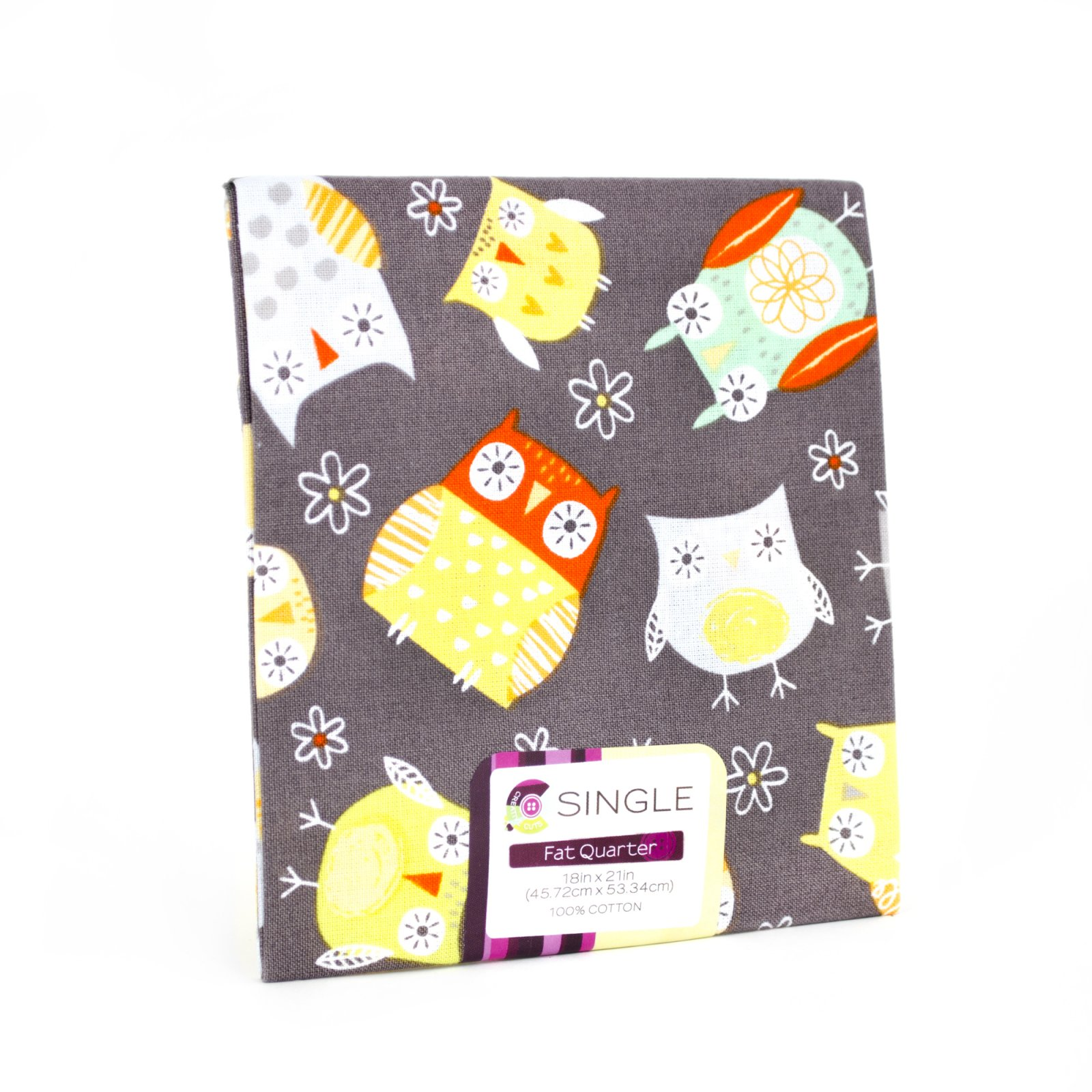 Creative Cuts Fat Quarter <br>Baby Owl Maize <br>MD-G-PC676