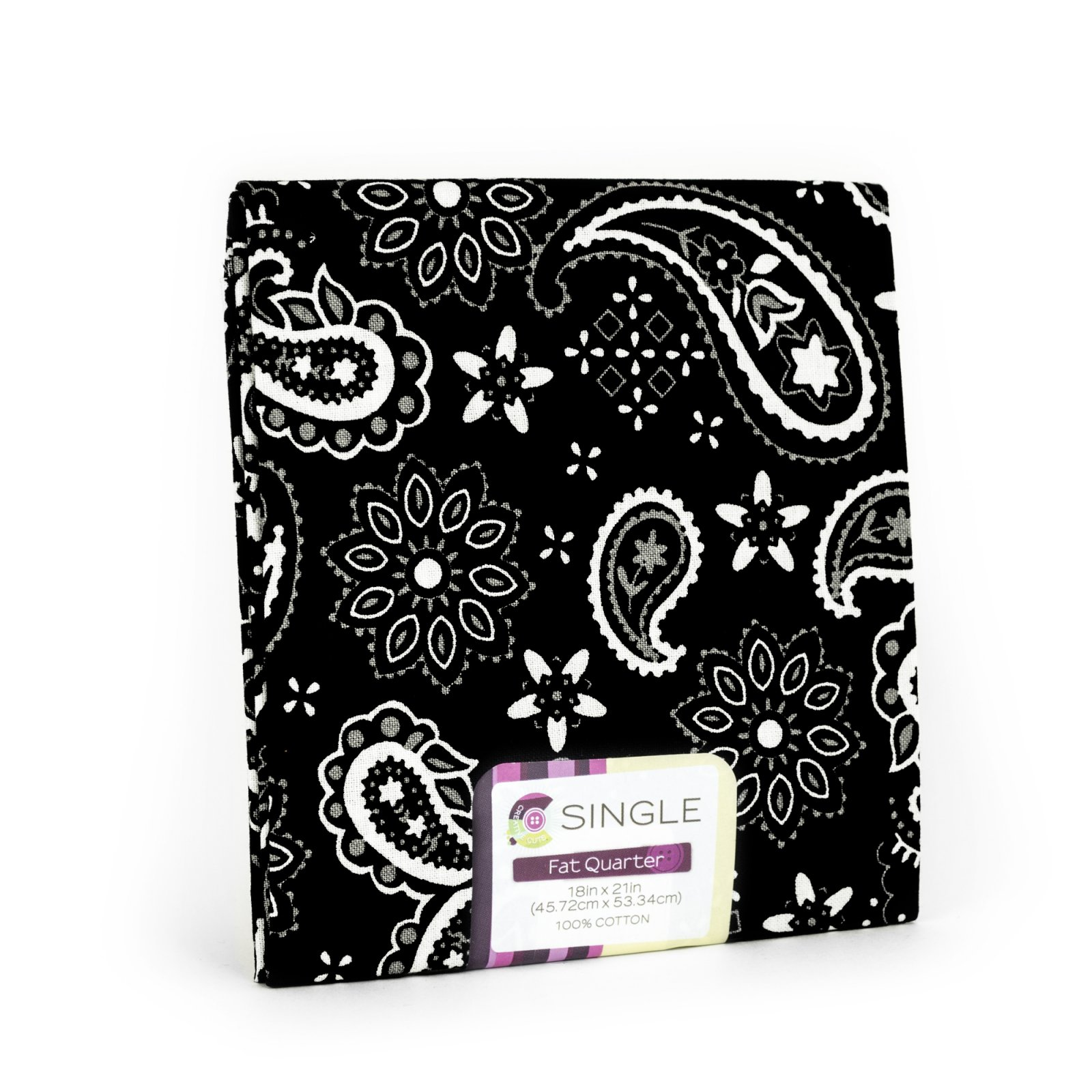 Creative Cuts Fat Quarter <br>Bandana Onyx <br>MD-G-PC715
