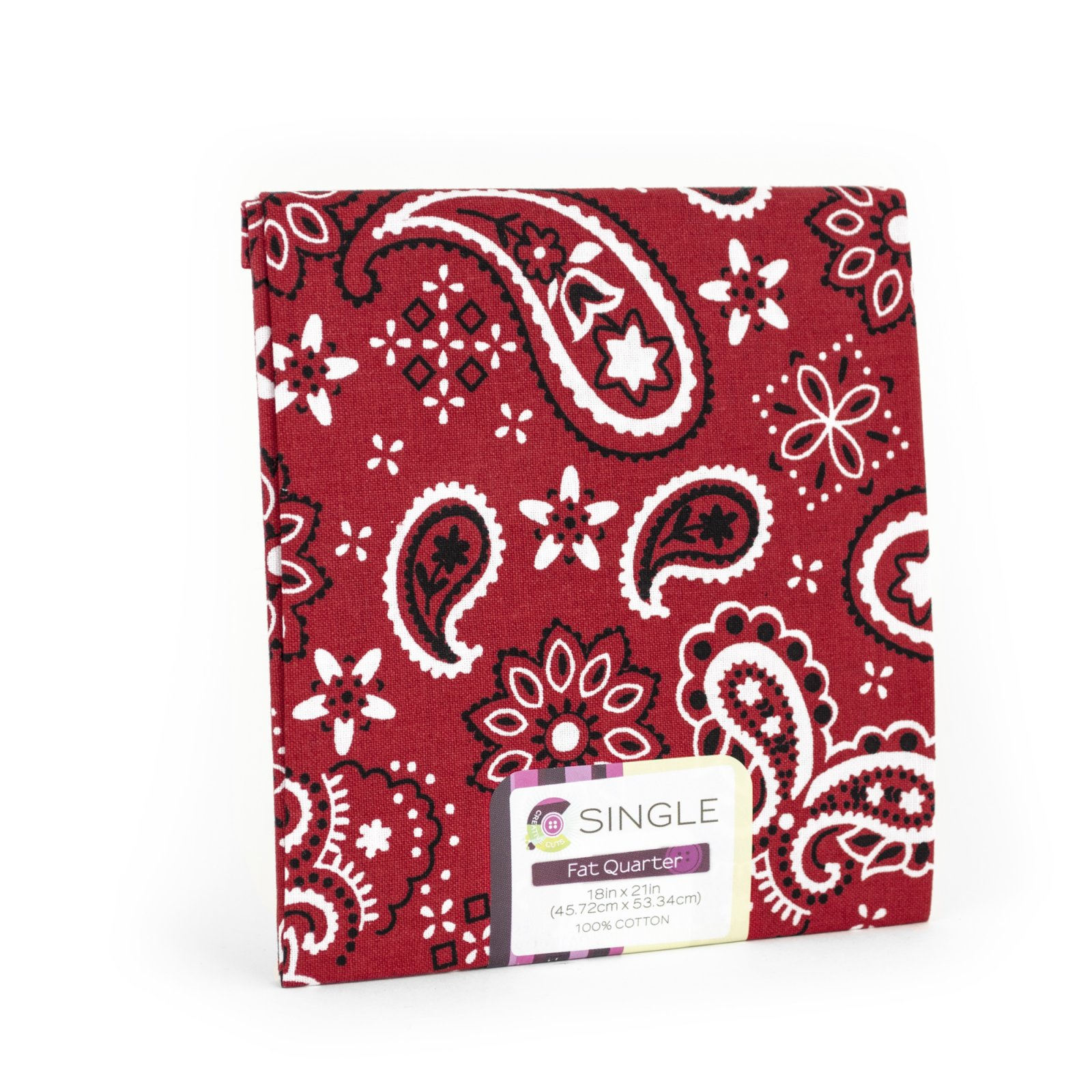Creative Cuts Fat Quarter <br>Bandana Poppy  <br>MD-G-PC718