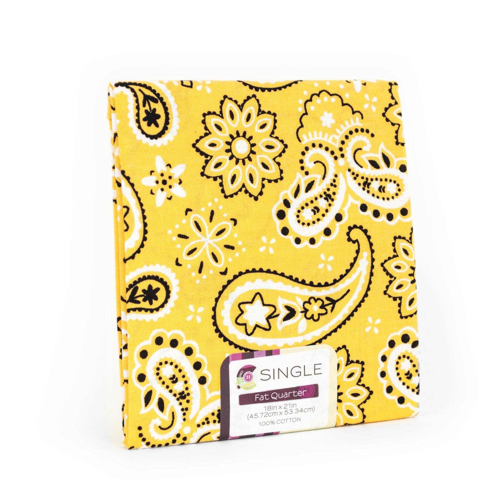 Creative Cuts Fat Quarter <br>Bandana Sunshine <br>MD-G-PC714