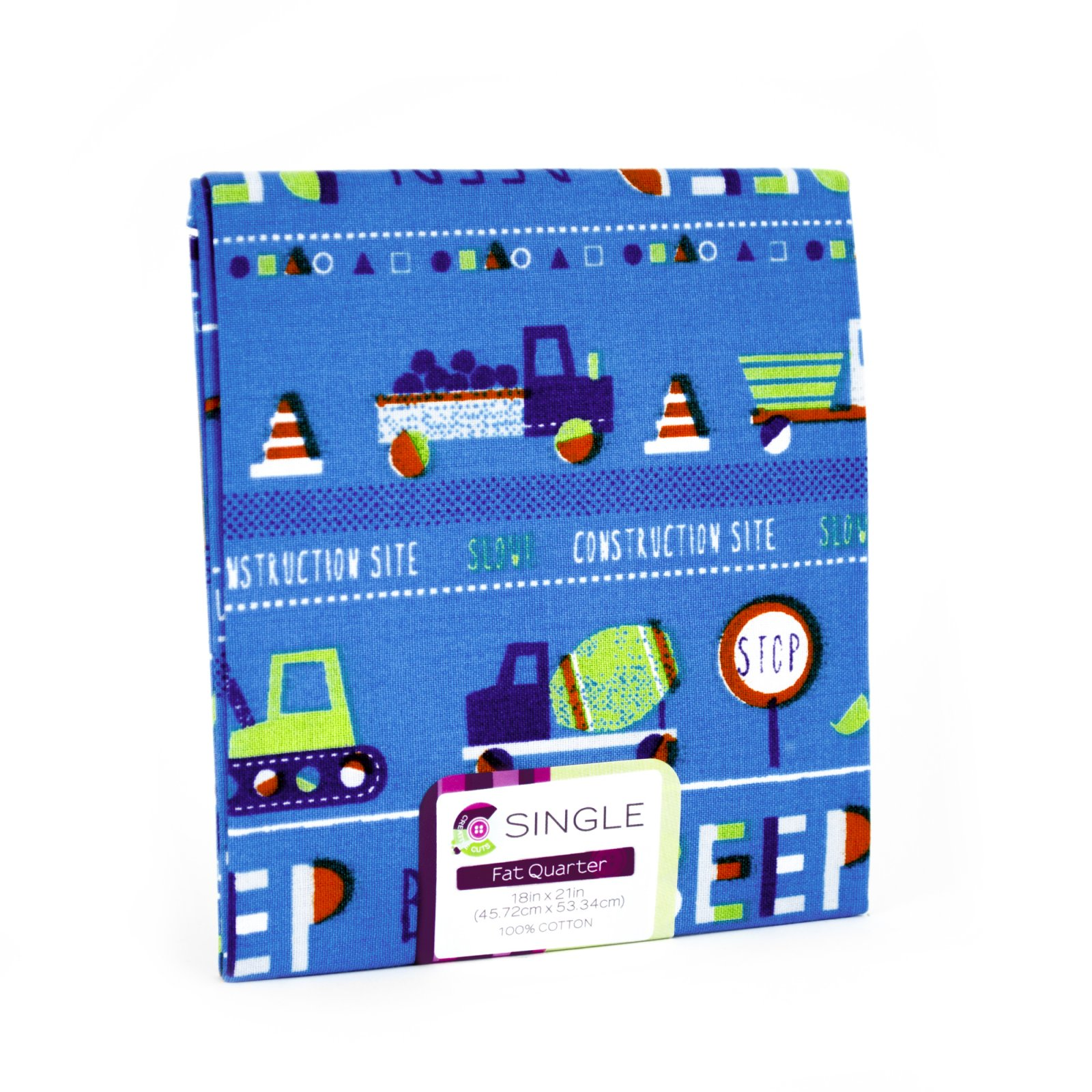 Creative Cuts Fat Quarter <br>Cars Ink <br>MD-G-PC685