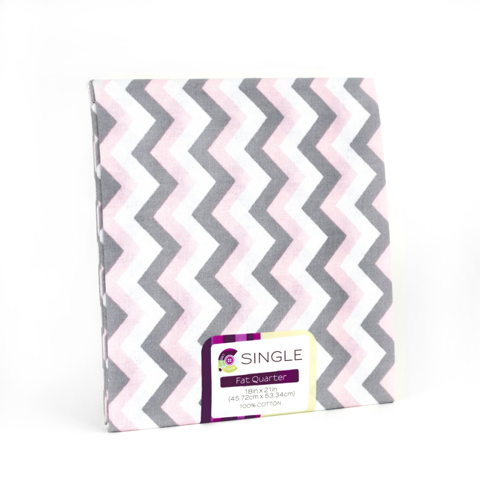 Creative Cuts Fat Quarter <br>Chevron Blush <br>MD-G-PC670