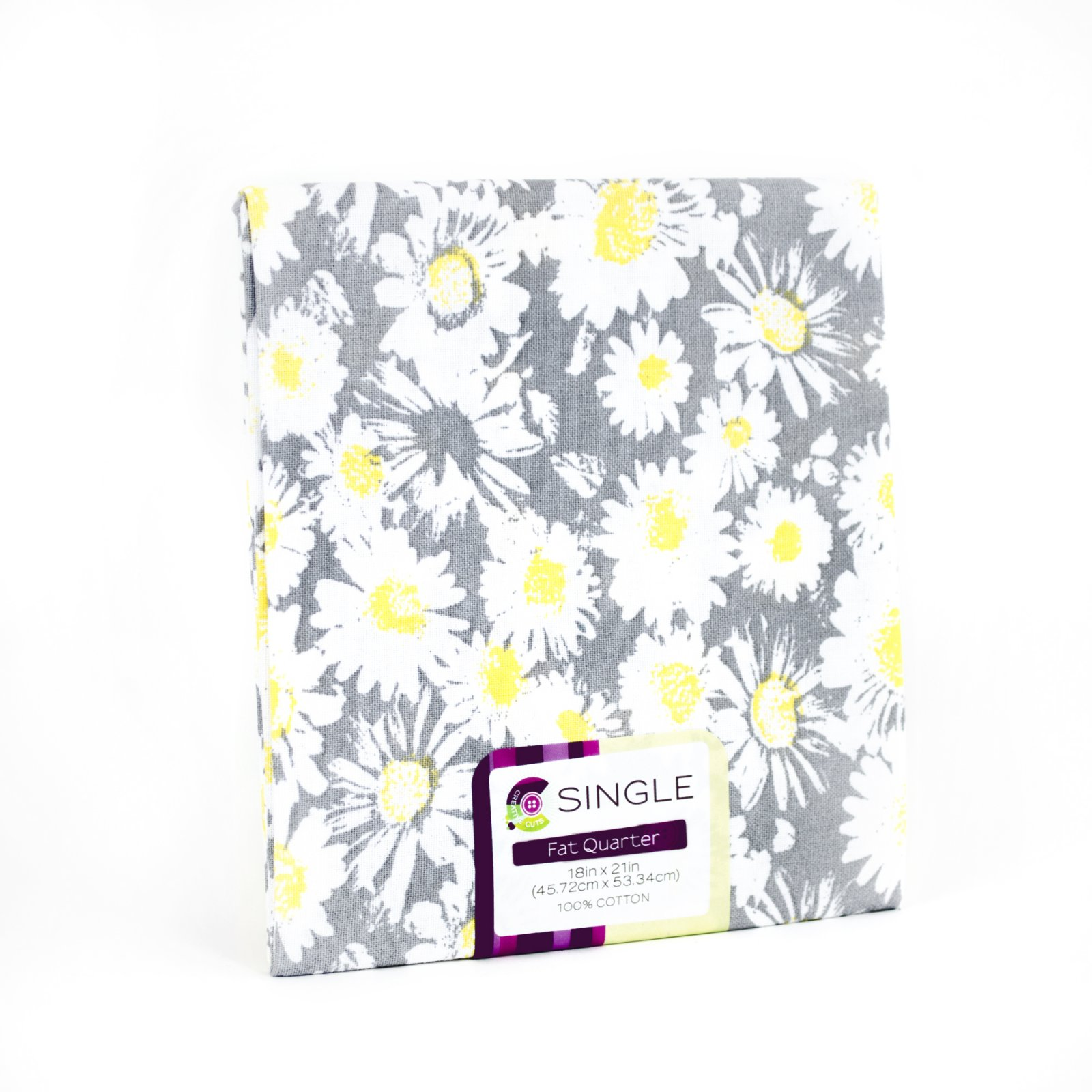 Creative Cuts Fat Quarter <br>Ditzy Daisy Steel <br>MD-G-PC592