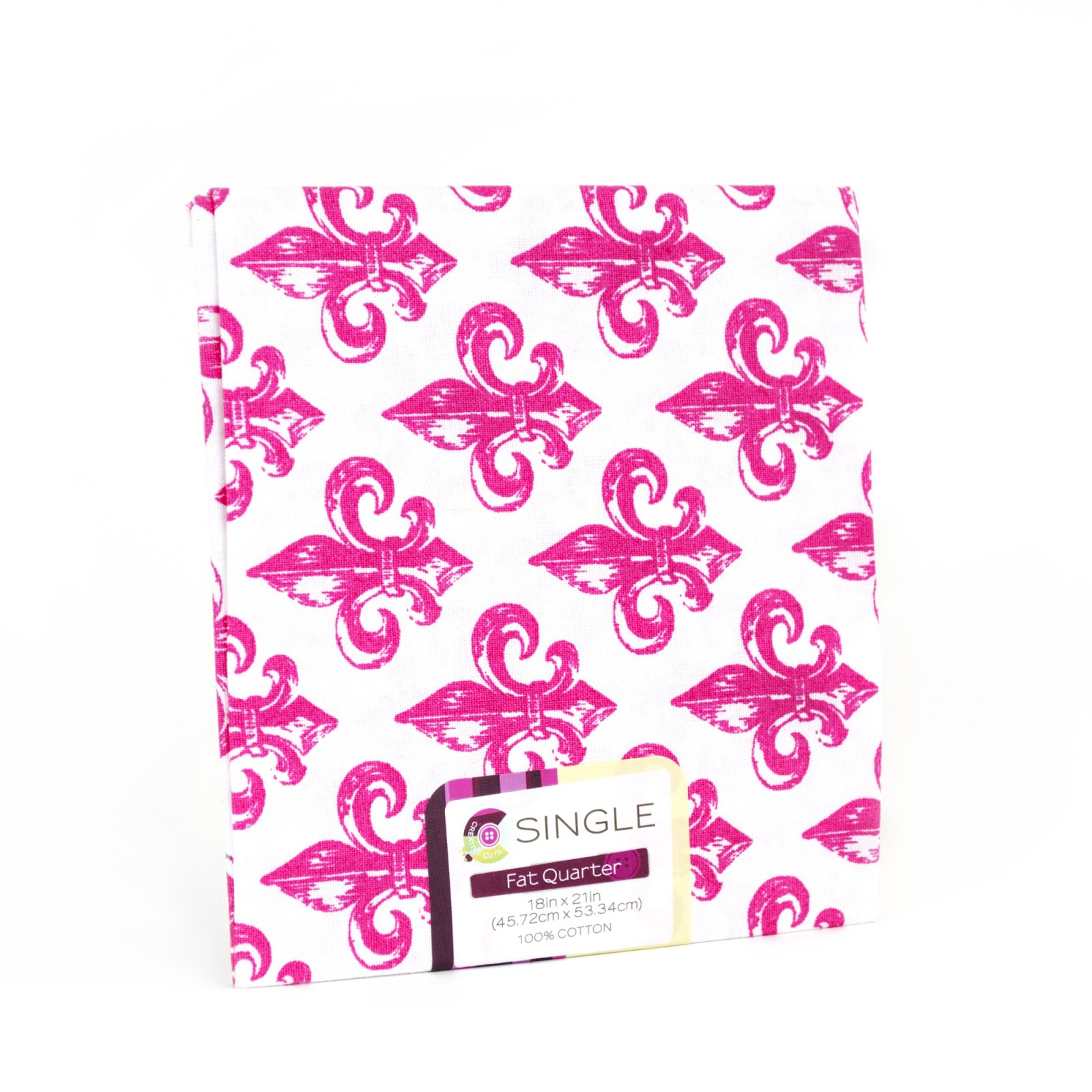 Creative Cuts Fat Quarter <br>Fleur Magenta <br>MD-G-PC694