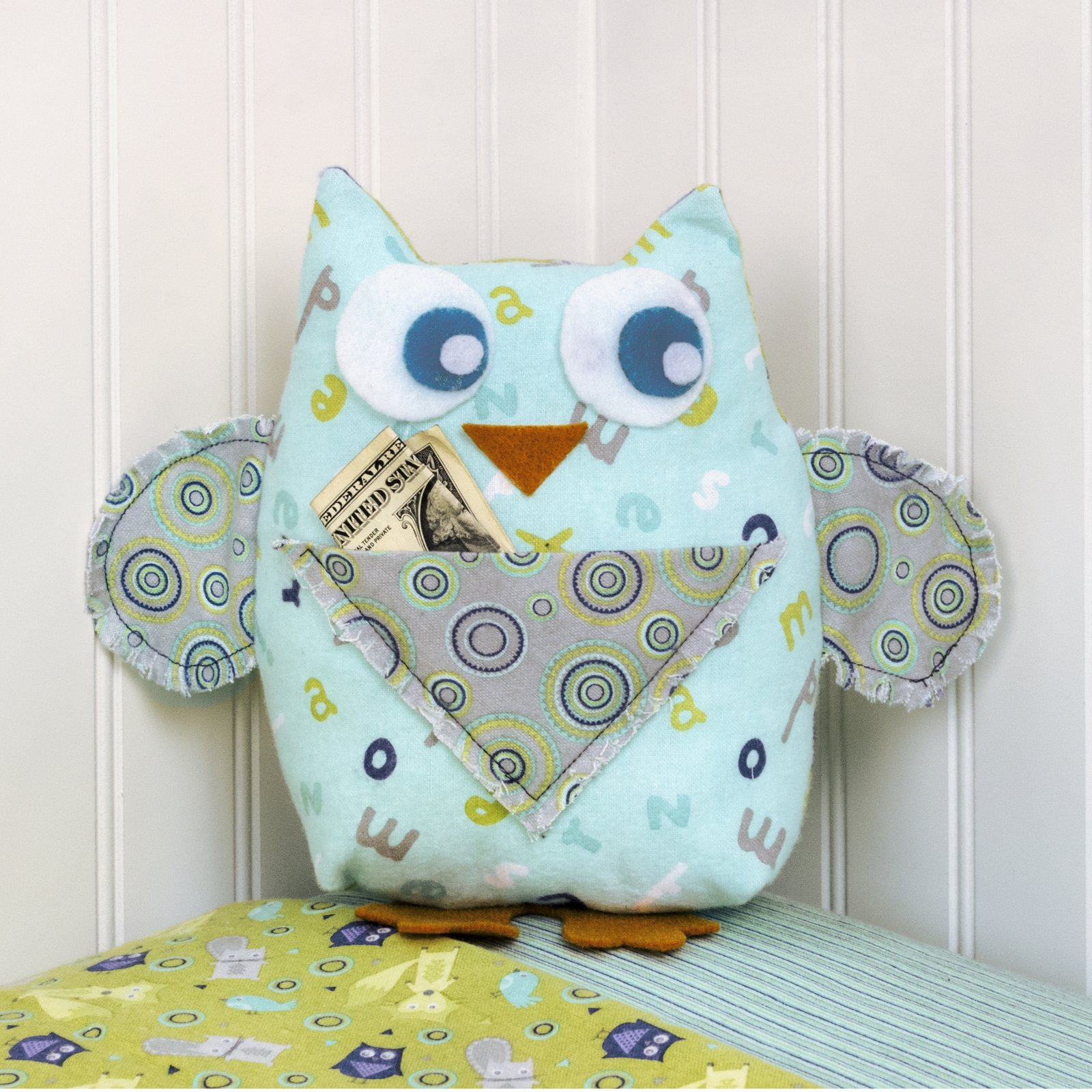 Owl Tooth Pillow