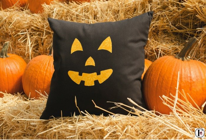 Jack O' Lantern Pillow