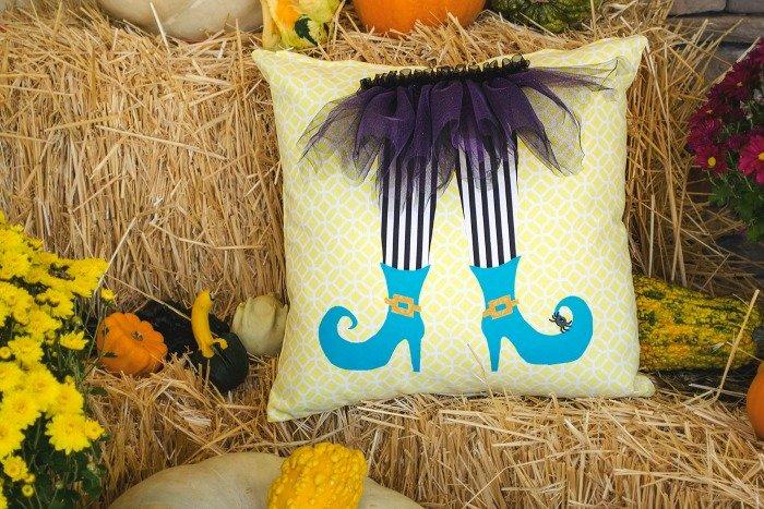 Halloween Whimsical Pillow