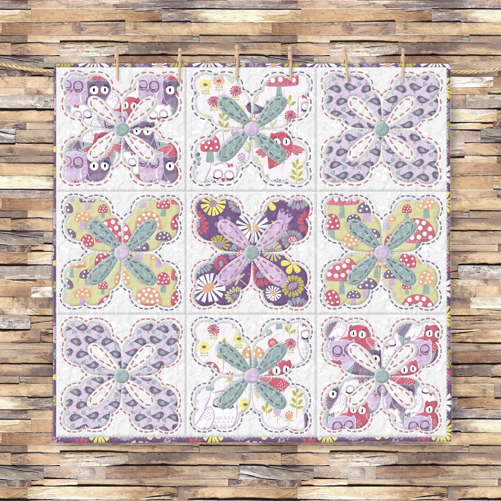 Pippet Moesby Blossom Quilt