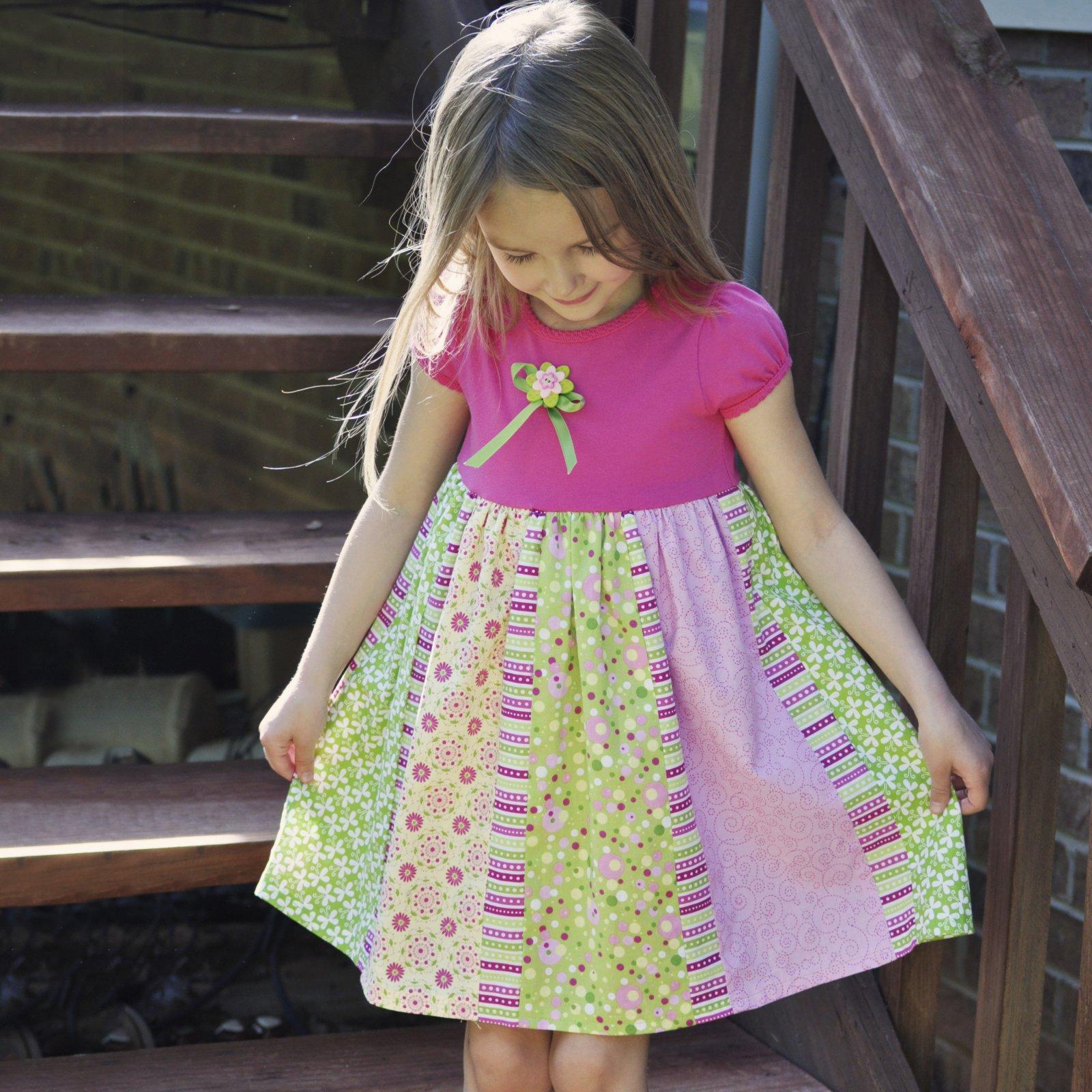 Pretty Pieces Dress