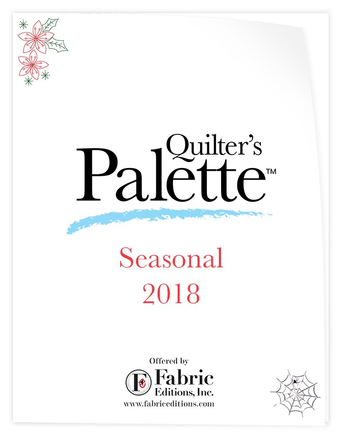 Quilter's Palette Seasonal 2018 Catalog