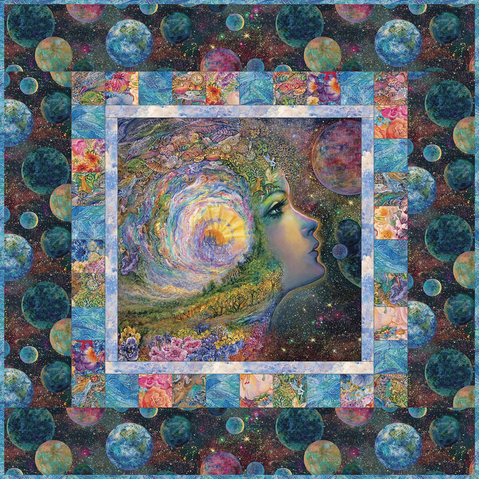3 Wishes Fabric<br>Ray of Hope Wall Hanging