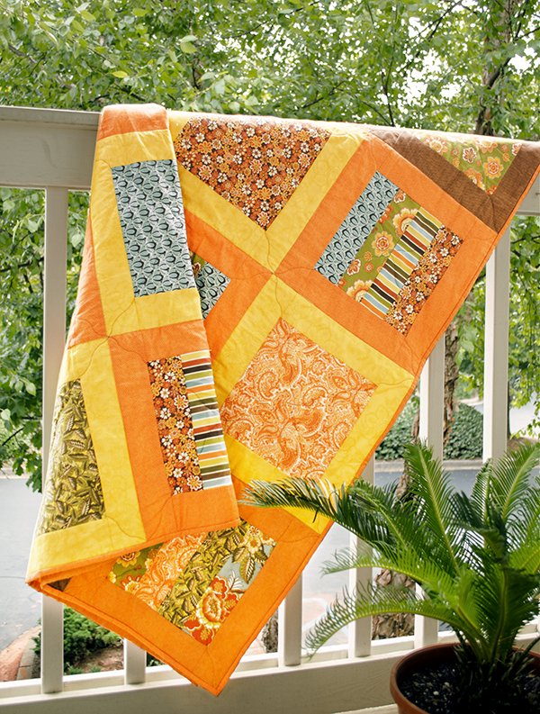 Autumn Fences Quilt
