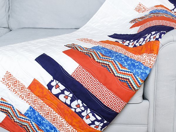 Reversible Quilted Throw
