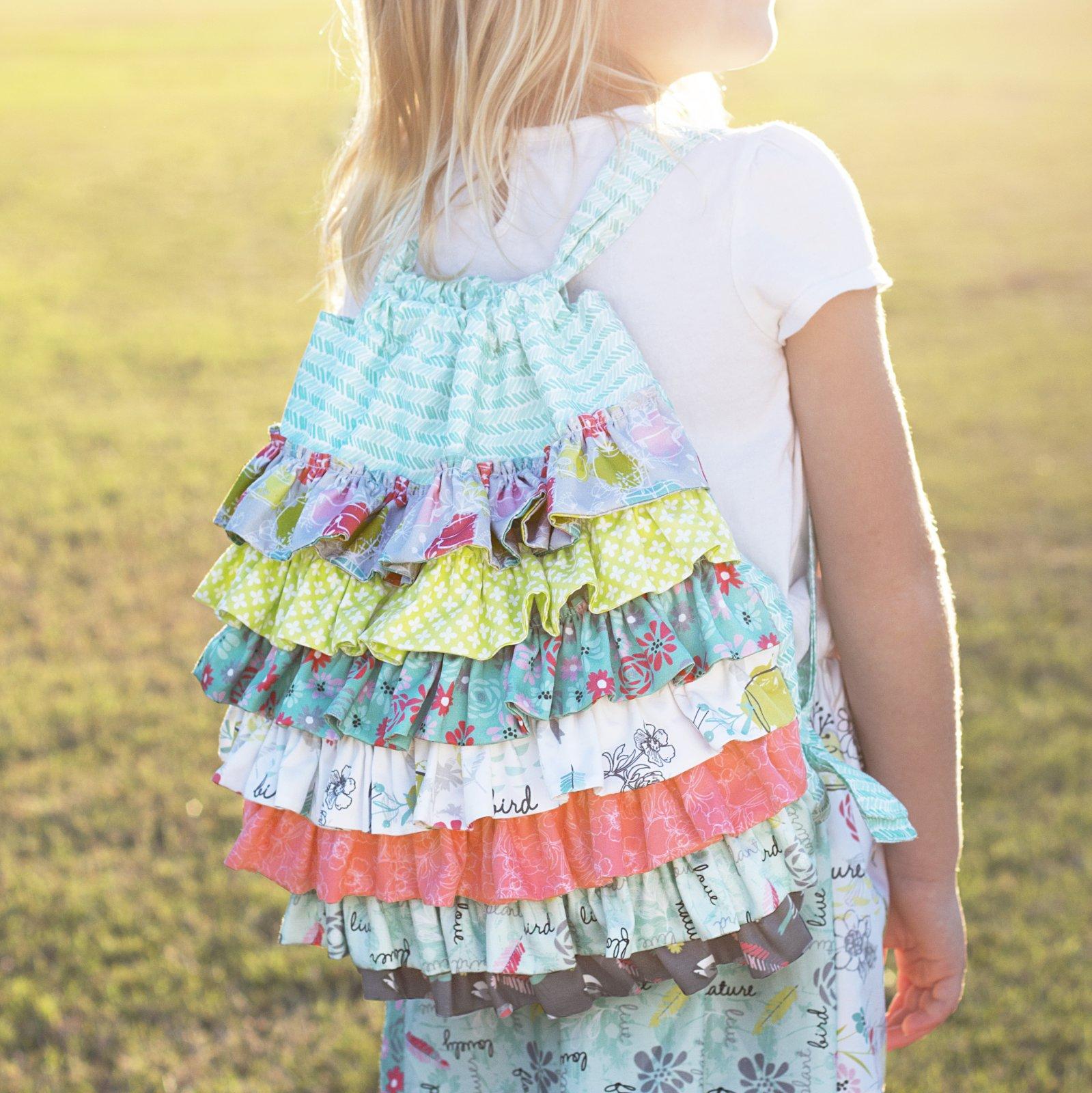 Ruffles Backpack