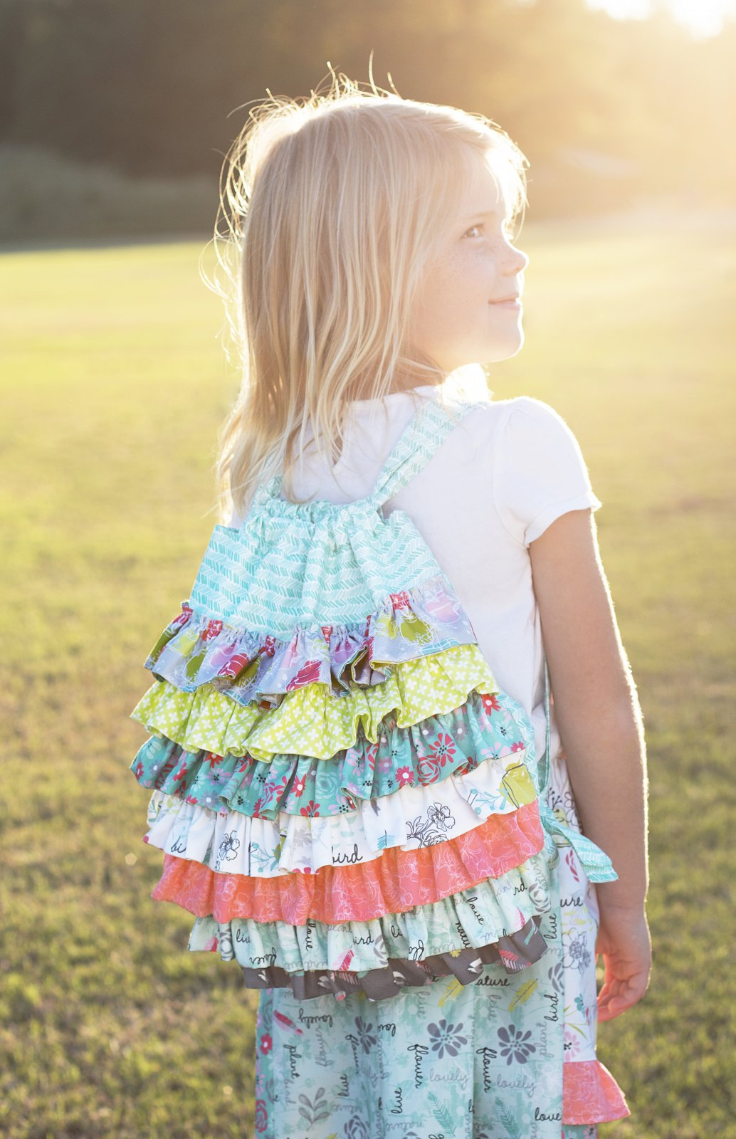 Ruffles Backpack