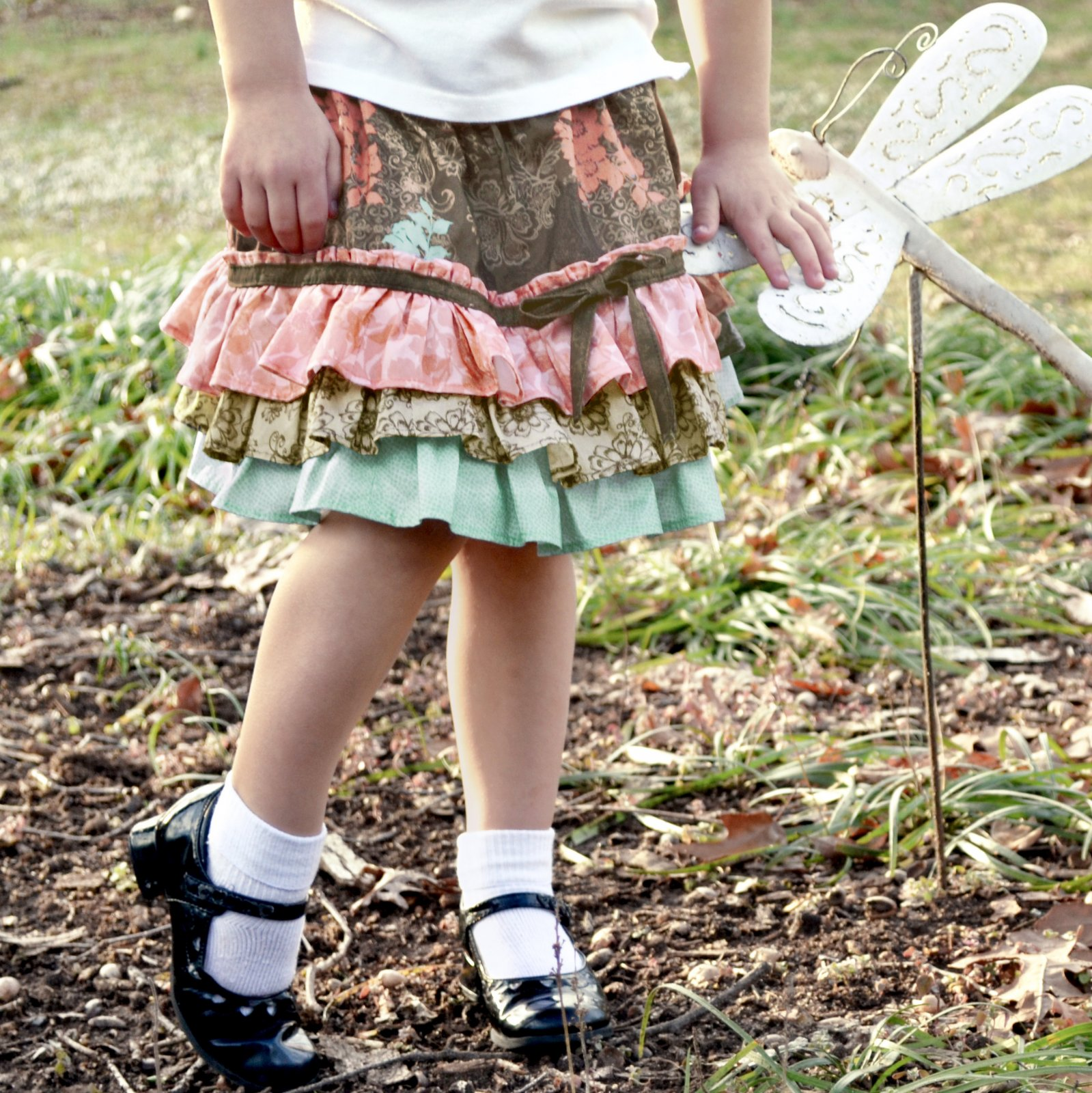 Childs Ruffled Skirt